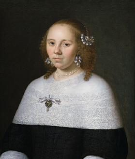 Portrait of a Young Woman from Hoorn