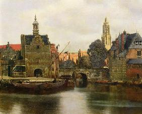 Vista de Delft  c.1660-61  (detail of 113452)