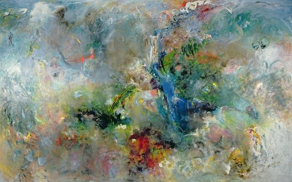 Valley of the Waterfalls, 1994 (oil on canvas)