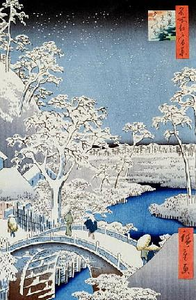 Japanese School  - Winter Landscape