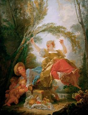 Jean-Honor?Š Fragonard, The Swing