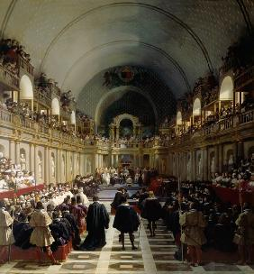 The assembly of the Estates-General on October 27, 1614