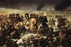 Napoleon on the battlefield of Prussian Eylau