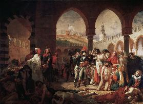 Campaign (Expedition) of Egypt (1798-1801) Napoleon Bonaparte Visiting the Pestiferes of Jaffa