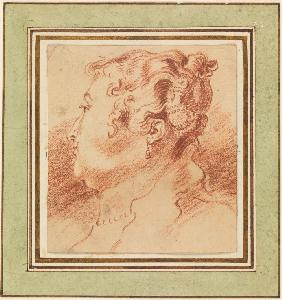 Study of Woman's Head