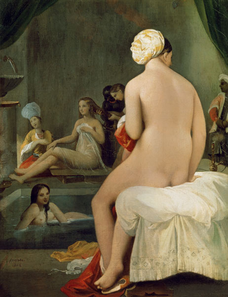 ÚLTIMA EXPOSICIÓN QUE HAS VISTO - Página 7 The-Little-Bather-in-the-Harem