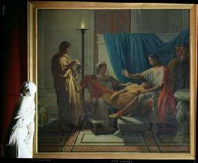 Virgil Reading the Aeneid to Livia, Octavia and Augustus