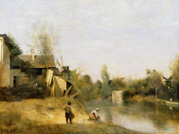 Riverbank at Mery sur Seine, Aube