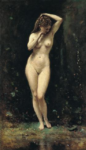 Diana Bathing (The Fountain)