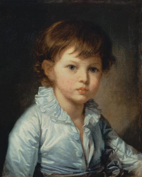 Portrait of Count Stroganov as a Child