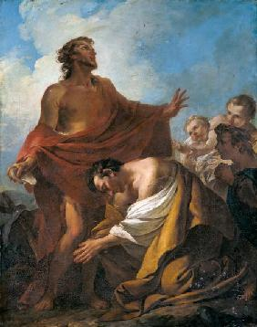 St. John the Baptist Baptising the Jews in the Desert