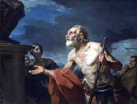 Diogenes Asking for Alms