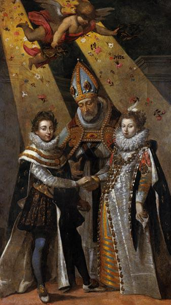 The Marriage of Louis XIII (1601-63) King of France and Navarre and Anne of Austria (1601-66) Infant