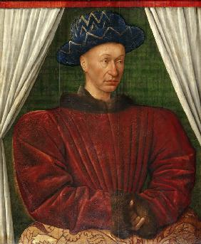 Portrait of the King Charles VII of France