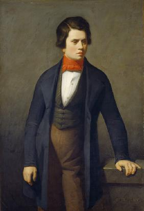 Portrait of Leconte de Lisle (1818-1894)
