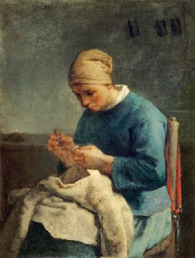 The seamstress (La couseuse)