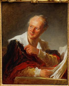 Portrait of Denis Diderot (1713–1784)