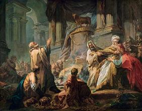 Jeroboam Sacrificing to the Golden Calf