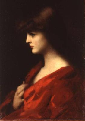 Study of a Woman in Red