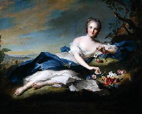 Portrait of Henriette de France, c.1742 (oil on canvas)