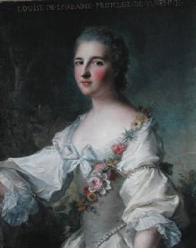 Louise-Henriette-Gabrielle de Lorraine (1718-88) Princess of Turenne and Duchess of Bouillon