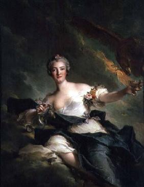 A Portrait of Anne Josephe Bonnnier de la Mossau (1718-87) Duchess of Chaulnes, as Hebe the Goddess