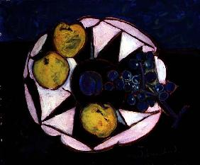 The Plum (oil on canvas)