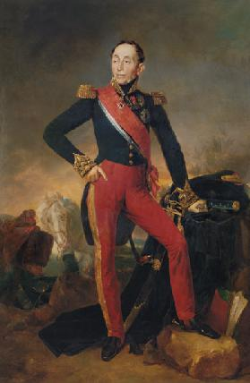 Portrait of Marquis Emmanuel de Grouchy (1766-1847) Marshal of France