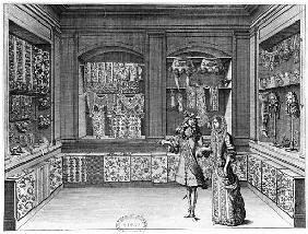 The Shop of Galanteries, illustration from ''Recueil d''ornements'', late 17th century