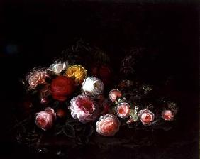 Roses in a Landscape