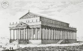 Fischer von Erlach, Johann Bernhard : The Temple of Diana at Eph...