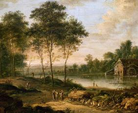 Landscape with a Mill