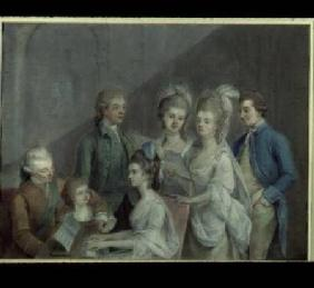 The family of Charles Schaw
