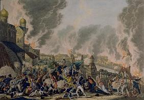The Burning of Moscow, 15th September 1812