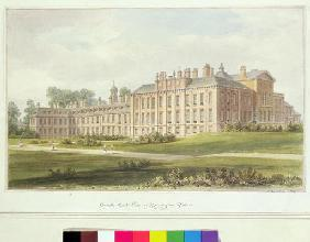 South East View of Kensington Palace, 1826 (w/c on paper)