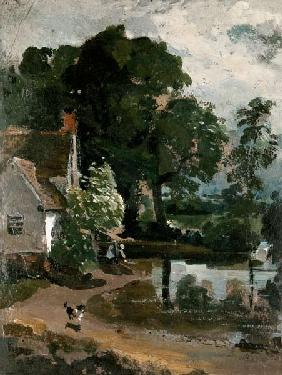Willy Lott's House, near Flatford Mill