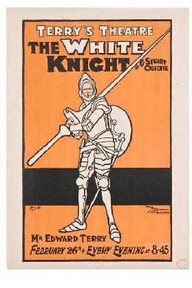 Terrys Theatre. The White knight by G. Stuart Ogilvie