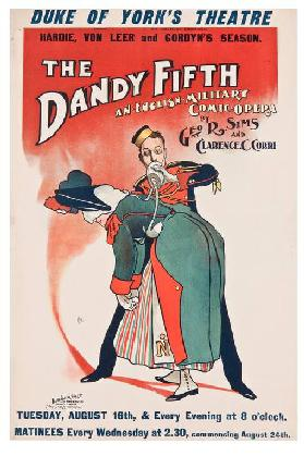 The Dandy Fifth. An English military comic opera