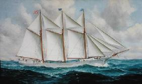 The Schooner 'Republic'