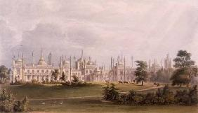 The West Front from Views of the Royal Pavilion, Brighton