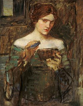 J.W.Waterhouse / The Love Philtre