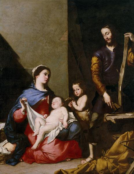 The Holy Family / Lo Spagnoletto / 1639