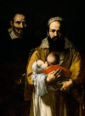 The Bearded Woman Breastfeeding