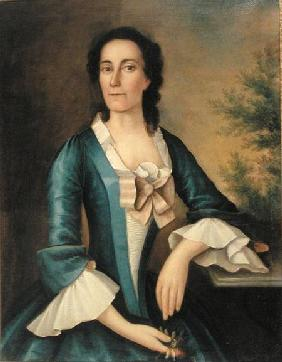 Portrait of Mrs Thomas Shippard (b.1718)