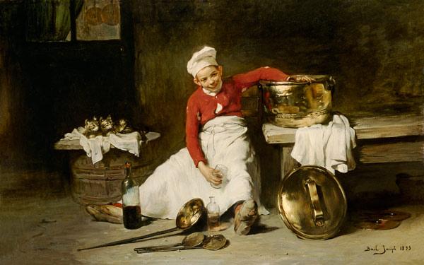 Reproducción impresa de  Kitchen-Boy