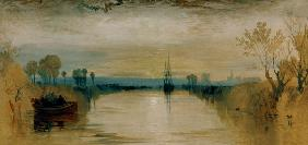 W.Turner, Chichester Canal / 1828