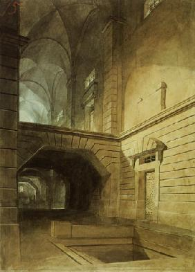 Inside of a prison to Piranesi