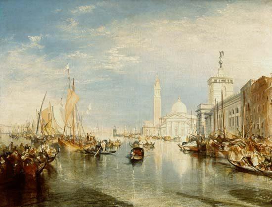 Venecia, Dogana y San Giorgio Maggiore