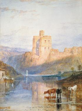 Norham Castle illustration to Walter Scott of Marm