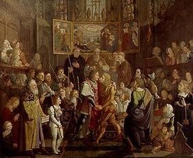 The reconciliation of Ludwig of the Bavarian with